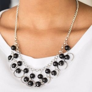 NWT Free with Bundle Black Necklace & Earrings